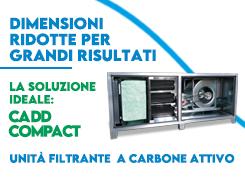 Scopri CADD Compact: la nuova unità filtrante a carbone attivo
