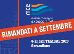 MCE 2020 – Rimandati a settembre